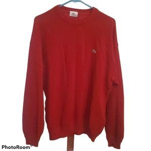 Lacoste Mens Long Sleeve Wool Blend Sweater